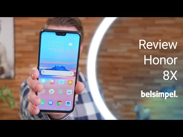 Belsimpel-productvideo voor de Honor 8X 128GB Phantom Blue