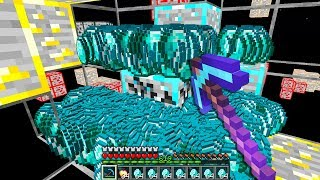 mining diamonds with a FORTUNE 30000 pickaxe against an XRAY hacker..