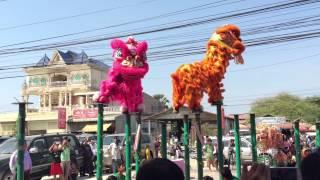 Mong-Say (Dragon Dance) at Poipet, Cambodia