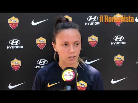 VIDEO - Roma Femminile, Serturini: