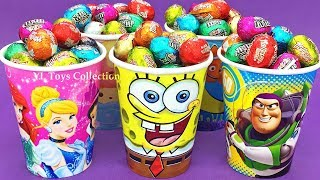 Speckled Eggs Surprise Cups Princess Spongebob Toy Story Num Noms Finding Dory Shopkins Care Bears
