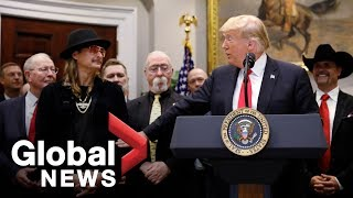 """Kid Rock says """"whole lot of people"""" give Trump credit for his work"""