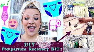 DIY Postpartum Recovery Kit!