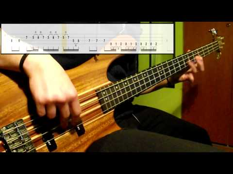 Muse - Sunburn (Bass Cover) (Play Along Tabs In Video)