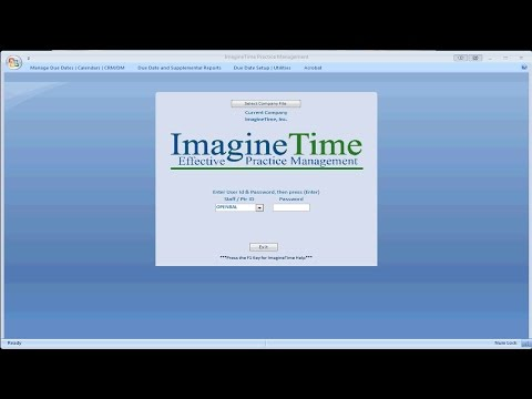 ImagineTime Finish-Line/Due Date Monitor