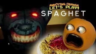 SPAGHET (Steam Jump Scare Game) [Annoying Orange Plays]