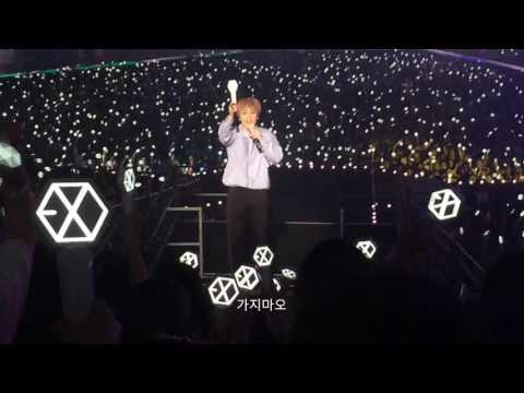 160722 EXO'rDIUM Seoul D-1- Tender Love - XIUMIN,시우민,민석