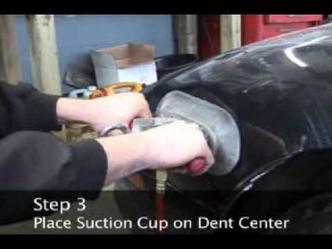 How to Fix a Dent on a Car