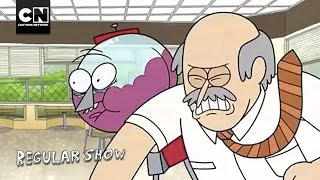 Diner Brawl I Regular Show I Cartoon Network