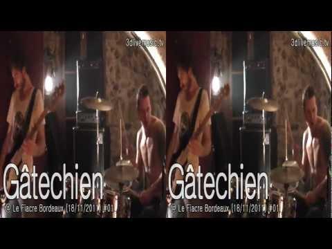 3D Live Music - Gâtechien @ Le Fiacre Bordeaux (18/11/2011) #01