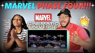 THIS LOOKS LIT! | MARVEL PHASE 4 REVEAL/REACTION!!