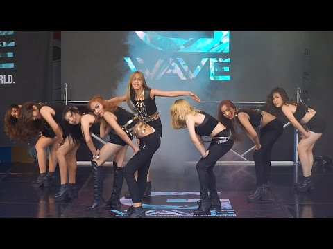 160528 Melody cover SNSD - Run Devil Run + You Think @G-WAVE Cover Dance 2016