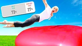 Try Not To POP A Giant 8ft WATER BALLOON! (you decide)