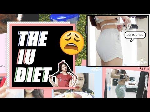 I tried the IU 아이유 diet! 😩 | 아이유 다이어트 해봤어요