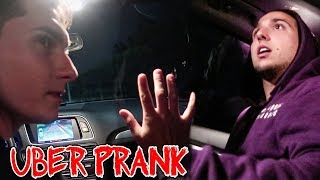 WRONG UBER PRANK ( crazy fan )