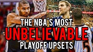 The 5 GREATEST UPSETS in NBA Playoff History!
