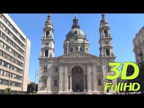 [3DHD] St. Stephen's Basilica / Szent István-bazilika, Budapest, Hungary / Magyarország