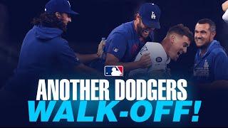 Dodgers pull off comeback, walk-off win No. 12 in 2019!