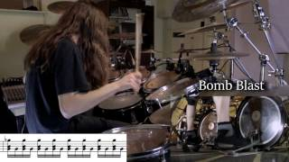 Different Types of Blast Beats (with notation)