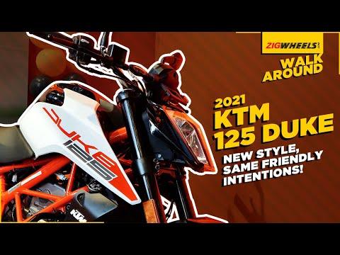 2021 KTM 125 Duke Walkaround   1290 Super Duke R-inspired Design Now On The 125 Duke