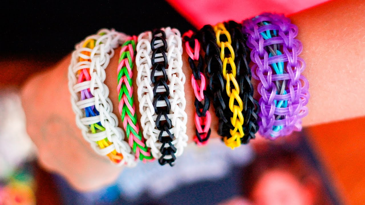 Making A Simple Rubber Band Bracelet With The Wonder Loom