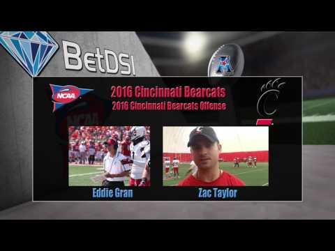 2016 NCAA Betting | Cincinnati Bearcats Team Preview and Odds