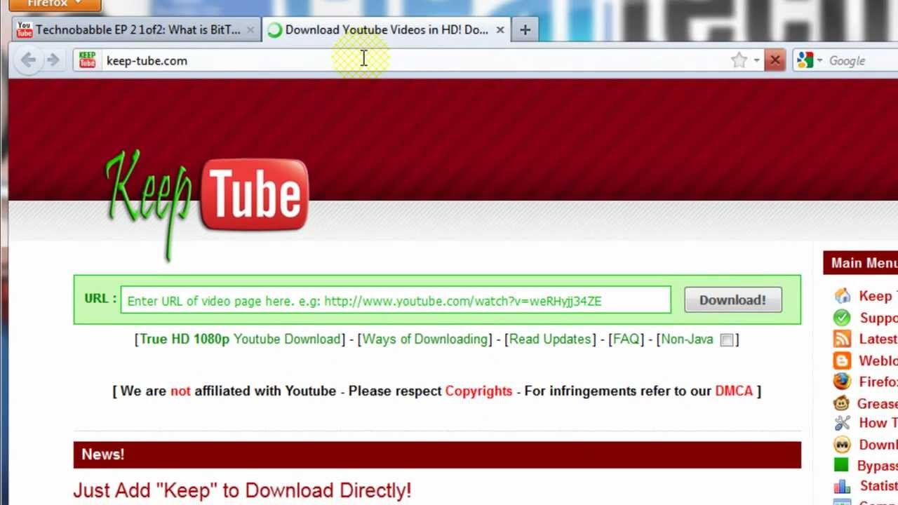 How-To Download Videos & Music from YouTube, Facebook ...