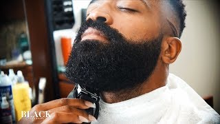 Trim & Shape The Beard with Dope Hair Design | Barber Spotlight #3 Show Kase