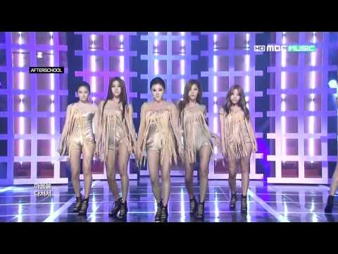 [Live HD]  After School - Flashback (120626 Show Champion)