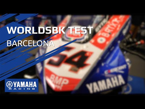 Behind the Scenes with Yamaha at the Barcelona WorldSBK Test