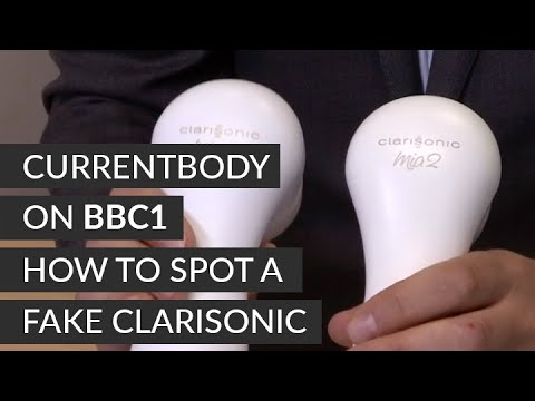 CURRENTBODY on BBC1 - how to spot a fake Clarisonic
