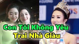 Mẹ Hoa Hậu Trần Thị Thu Ngân :