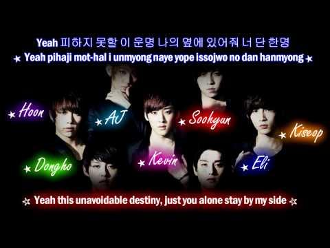 U-Kiss Tick Tock (Korean Ver) [Eng Sub + Romanization + Hangul] HD