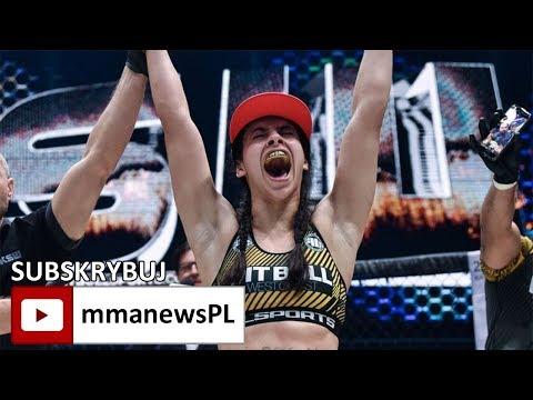 KSW 40: Ariane Lipski obroniła pas błyskawicznym duszeniem w 1 rundzie