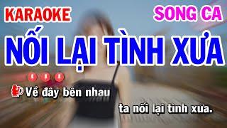 Karaoke Nối Lại Tình Xưa Song Ca Nhạc Sống | Mai Thảo Organ