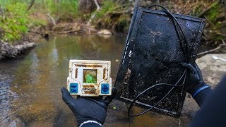 River Treasure: Found Computer, TV, & Video Games!!! (Trailer Park Edition)