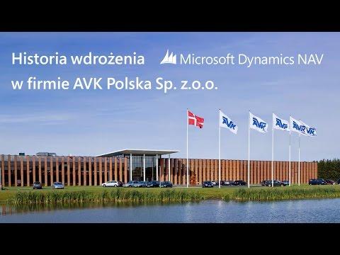 Wdrożenie systemu ERP Microsoft Dynamics NAV w firmie AVK Polska