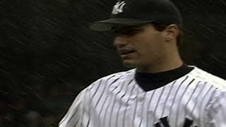 Pettitte gets the win in snowy home opener