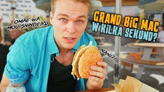 GRAND BIG MAC SPEED EATING CHALLENGE (50-lecie Big Mac cz. 2) | [Epic Speed Meal]
