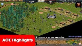 AOE Highlights - Chiến thuật quá ảo diệu và tình huống đổ máu chỉ vì 1 bãi vàng
