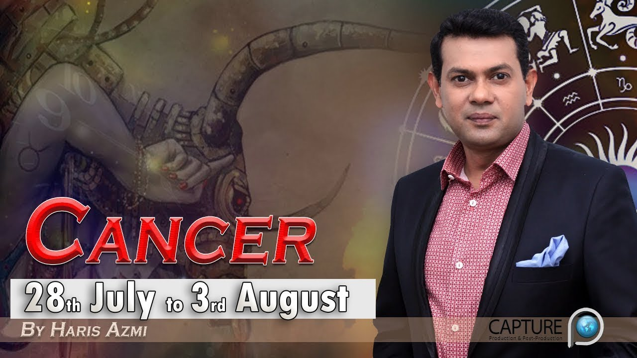 Cancer Weekly Horoscope from Sunday 28th July to Saturday 3rd August 2019