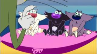 Огги и тараканы - Огги и котята S1E24 / Oggy and the Cockroaches - Oggy and the Babies