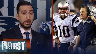 The way Jimmy G was traded was a misstep from Belichick — Nick Wright | NFL | FIRST THINGS FIRST