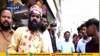 TDP Leader Narasimha Prasad portrays Muhammad Bin Tughluq..