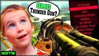 Black Ops 2 Thunder Gun Mod Trolling ONLINE! (DESTROYING