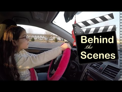 BEHIND THE SCENES: 7 Year Old Driving A Car