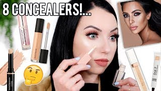 CONCEALER ROUNDUP! 8 New Concealers I've Been Testing...Thoughts, Swatches & Mini Reviews