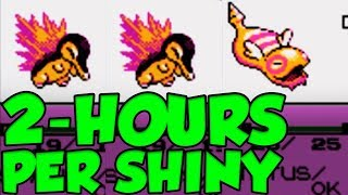 SHINY POKEMON EVERY 2 HOURS IN GOLD AND SILVER VERSION!