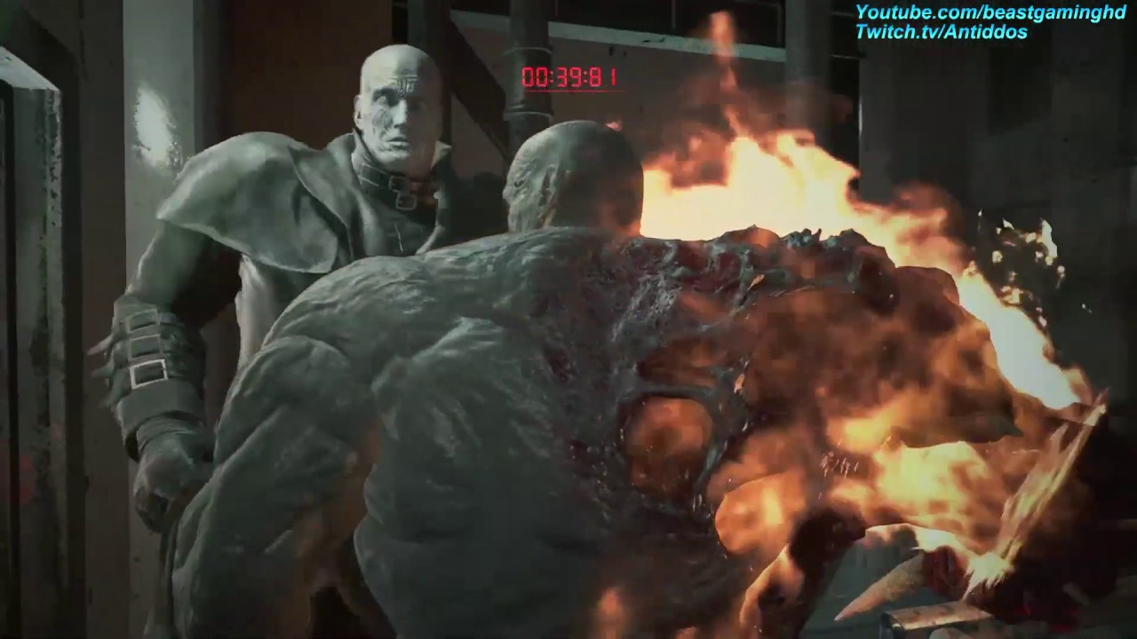 Mr X Resident Evil 2 Remake Differences With The Original