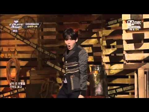 140906 SUPER JUNIOR  - MAMACITA @ M! Countdown (Comeback Stage)